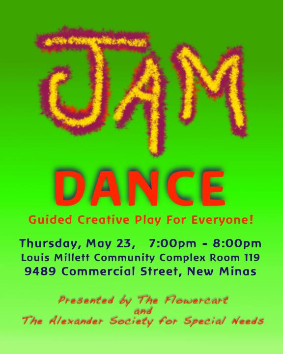 Jam Dance Poster for May 23, 3013